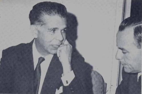 Joaquín Balaguer, en una entrevista el 8 de marzo de 1962.