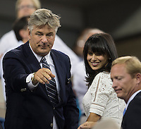 CELEBRITY - ALEC BALDWIN<br /> The US Open Tennis Championships 2014 - USTA Billie Jean King National Tennis Centre -  Flushing - New York - USA -   ATP - ITF -WTA  2014  - Grand Slam - USA  25th August 2014. <br /> <br /> &copy; AMN IMAGES