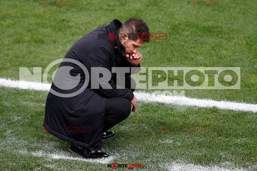 Atletico de Madrid's coach Diego Pablo Cholo Simeone during La Liga match. November 19,2016. (ALTERPHOTOS/Acero) /NORTEPHOTO.COM