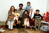 March 8th, 1982, Lebanon: in Ain Elhelweh, a family of 7, all born in Lebanon.