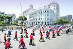 Lima, Peru, Ayacuchano Carnival, Traditional Festival, San Martin Square