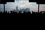 Southern view of Manhattan from the Staten Island Ferry, March 1990..1990 © Kenneth JARECKE / CONTACT Press Images