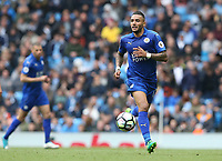 Leicester City's Danny Simpson<br /> <br /> Photographer Stephen White/CameraSport<br /> <br /> The Premier League - Manchester City v Leicester City - Saturday 13th May 2017 - Etihad Stadium - Manchester<br /> <br /> World Copyright &copy; 2017 CameraSport. All rights reserved. 43 Linden Ave. Countesthorpe. Leicester. England. LE8 5PG - Tel: +44 (0) 116 277 4147 - admin@camerasport.com - www.camerasport.com
