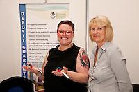 Aimee Luck and Tina King of Broxtowe Borough Council