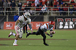 NOV 30 2013 UNLV Rebels upset San Diego Aztecs 45-19 in the final game of the season