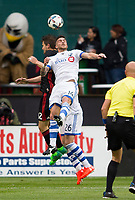 Washington, D.C. - Saturday May 6, 2017: The Montreal Impact defeated D.C. United 1-0 during an MLS match at RFK Stadium.