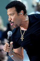 """Lionel Richie performs on """"The Today Show"""" - New York"""