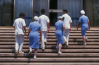Scuola infermieri della Croce Rossa Italiana.Italian Red Cross Nursing School...