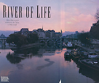 Travel and Leisure,  Paris Seine RIver