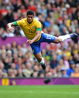 Olympia 2012 London  Fussball  Maenner   29.07.2012 Brasilien - Weissrussland HULK (Brasilien)