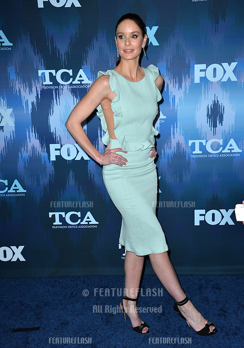 Sarah Wayne Callies at the Fox Winter TCA 2017 All-Star Party at the Langham Huntington Hotel, Pasadena, USA 11th January  2017<br /> Picture: Paul Smith/Featureflash/SilverHub 0208 004 5359 sales@silverhubmedia.com