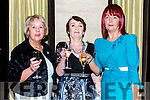 Kathleen Cronin, Tess Clifford and Mary O'Sulivan  at the fashion show in the Hotel Europe on Thursday night