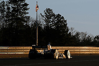 20-21 Febuary, 2012 Birmingham, Alabama USA.Will Power on the last lap of the day.(c)2012 Scott LePage  LAT Photo USA