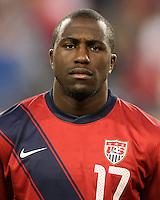 Jozy Altidore(17) of the USA MNT during an international friendly match against Paraguay at LP Field, in Nashville, TN. on March 29, 2011.Paraguay won 1-0.