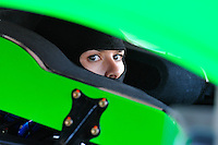 1 June 2013: NASCAR Sprint Cup Driver Danica Patrick (10) gets ready to practice for the FedEx 400 at Dover International Speedway in Dover, Delaware.
