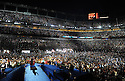 Democratic presidential nominee Barack Obama speaks to delegates on the final night of the Democratic National Convention at Invesco Field in Denver, Colorado, USA 28 August, 2008.  Obama accepted the nomination as the Democratic party's presidential candidate.