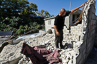 Andy Chaggar assessing the site of a damaged orphanage, Port-au-Prince, Haiti. EDV is committed to affecting permanent change in disaster-affected communities worldwide. Their role is to facilitate personal connections between volunteers and the survivors of disasters.  The charity is based on a proven model developed by several landmark organisations that have paved the way for citizens to become disaster volunteers. These landmark organisations have shown that supposedly ordinary people working together with the guidance of knowledgeable leaders can make an extraordinary difference in the lives of those affected by disaster..EDV believe that to provide meaningful relief and reconstruction assistance to disaster affected communities they have to do more than reconstruct buildings. They need to understand and address the factors that made a community vulnerable to the disaster in the first place. The charity's work is organised with these factors in mind so that they can affect change that far outlives their presence..EDV believes that survivor motivation is essential to the recovery of any disaster-affected community. Their operations will always be predicated on the idea that survivors may be traumatised, but they are not helpless. With this in mind, EDV encourages host communities to direct their own recovery. EDV believe that this empowerment is essential in helping survivors feel a renewed sense of control over their lives which will, in turn, help overcome the feelings of hopelessness that can follow a disaster and inhibit long term recovery. EDV also believe that social cohesion is of primary importance in any disaster-affected area. No amount of bricks or mortar will bring about sustainable improvement if communities fail to come together or are disrupted by relief efforts. Therefore, their operations will always aim to foster communication and cooperation within and between the communities they serve.