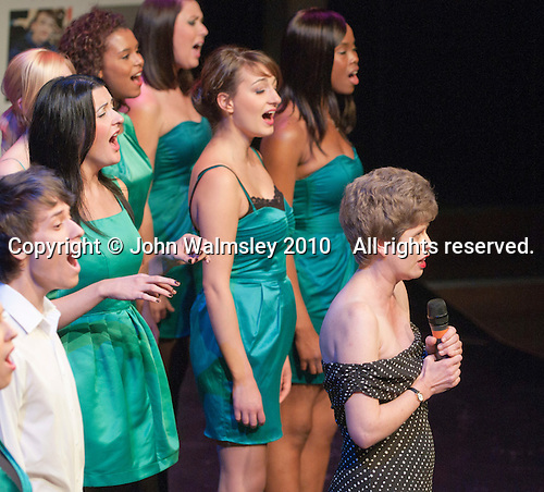 "Sarah Young singing ""You'll Never Walk Alone"" with the ACM Gospel Choir  Special Olympics Surrey put on a show,   ""Beyond the Stars"", at the Rose Theatre, Kingston upon Thames to raise money for the  SOGB team.  The Special Olympics are for athletes with learning disabilities."