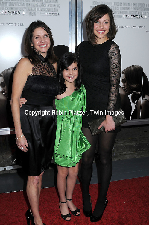 Bailee Madison and family