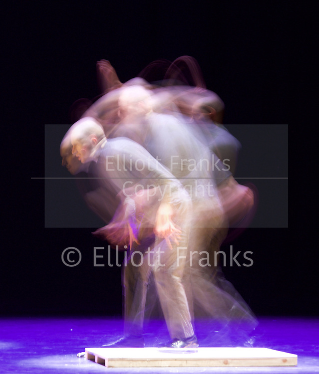 Sadler's Wells Sampled <br /> at Sadler's Wells, London, Great Britain <br /> press photocall / rehearsals <br /> 2nd February 2017 <br /> <br /> <br /> Boards and Chains <br /> excerpt from ETM: Double Down)<br /> Dorrance Dance <br /> <br /> <br /> <br /> Photograph by Elliott Franks <br /> Image licensed to Elliott Franks Photography Services