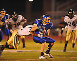 Oxford High's Toler Presley (5) vs. New Hope in high school football in Oxford, Miss. on Friday, September 28, 2012. Oxford won 29-17 to improve to 6-0.