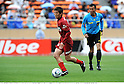 Takuya Nozawa (Antlers), APRIL 25th, 2011 - Football : 2011 J.League Division 1 match between Kashima Antlers 0-3 Yokohama Marinos at National Stadium in Tokyo, Japan. The J.League resumed on Saturday 23rd April after a six week enforced break following the March 11th Tohoku Earthquake and Tsunami. All games kicked off in the daytime in order to save electricity and title favourites Kashima Antlers are still unable to use their home stadium which was damaged by the quake. Velgata Sendai, from Miyagi, which was hard hit by the tsunami came from behind for an emotional 2-1 victory away to Kawasaki. (Photo by Takamoto Tokuhara/AFLO).