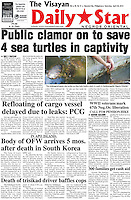 Through media attention we've made big steps towards the rehabilitation of these turtles in captivity.