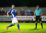 Brechin City v St Johnstone&hellip;26.07.16  Glebe Park, Brechin. Betfred Cup<br />Chris Kane reacts after missing his penalty<br />Picture by Graeme Hart.<br />Copyright Perthshire Picture Agency<br />Tel: 01738 623350  Mobile: 07990 594431