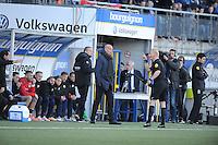 VOETBAL: LEEUWARDEN: 21-04-2016, Cambuurstadion, SC Cambuur - Willem II, uitslag 1-1, trainer/coach Williem II Jurgen Streppel, foto Martin de Jong
