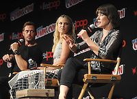 "NEW YORK, NY - OCTOBER 07: William Levy, Ali Larter and Mila Jovovich attends  ""Resident Evil: The Final Chapter"" panel at New York ComiCcon at the Theater in Madison Square Garden on October 7, 2016. Photo by: John Palmer/ MediaPunch"