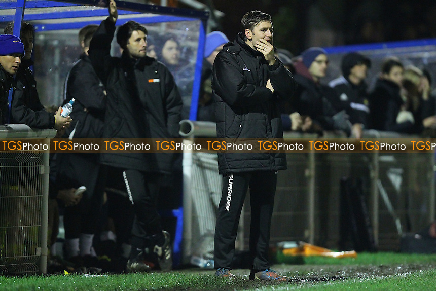 Concord Rangers assistant manager Nicky Cowley - Concord Rangers vs Mansfield Town - FA Challenge Cup 1st Round Replay Football at the Aspect Arena, Thames Road, Canvey Island, Essex - 25/11/14 - MANDATORY CREDIT: Gavin Ellis/TGSPHOTO - Self billing applies where appropriate - contact@tgsphoto.co.uk - NO UNPAID USE
