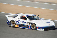 Mazda cars at Rolex Monterey Motorsports Reunion