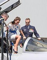 Kate, Duchess of Cambridge & Prince William visit RAF Amberley - Australia