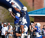 _W1_8203<br /> <br /> The BYU Football Team holds a public practice and Fan Fest at Dixie High School in St. George, Utah.<br /> <br /> 2017 BYU Football - Spring Practice March 17, 2017<br /> <br /> March 17, 2017<br /> <br /> Photo by Jaren Wilkey/BYU<br /> <br /> &copy; BYU PHOTO 2017<br /> All Rights Reserved<br /> photo@byu.edu  (801)422-7322