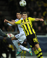 Fussball Uefa Champions League 2012/13: Borussia Dortmund - Real Madrid