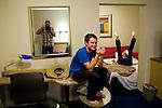 Luceo semi-annual meeting at the Look3 festival in Charlottesville, Virginia.  David Walter Banks, Kendrick Brinson, Matt Eich, Kevin German, Tim Lytvinenko, Matt Slaby