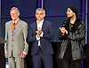 Mayor of London and London Assembly results announcement at City Hall, London, Great Britain <br /> 6th May 2016 <br /> <br /> <br /> <br /> Lee Harris - CISTA<br /> <br /> Sadiq Khan - Labour <br /> <br /> Ankit Love - One Love Party<br /> <br /> <br /> The winner was Sadiq Khan who is appointed the new mayor of London <br /> <br /> <br /> <br /> Photograph by Elliott Franks <br /> Image licensed to Elliott Franks Photography Services