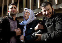Family and friends mourn for Brigadier Rajeh Mustafa Mahmoud of the Syrian Army at his funeral in Damascus. He was shot by a sniper in the eastern suburbs of the city.Protests against the ruling Baathist regime of Bashar al-Assad erupted in March 2011. Although they were initially peaceful,  they were violently repressed by the Syrian army and police. In response to being ordered to shoot unarmed civilians, large numbers of men deserted the army and formed the Free Syrian Army. The protest movement has now turned into an armed uprising with clashes between the regular army and the Free Syrian Army taking place in early 2012.....