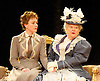 An Ideal Husband by Oscar Wilde<br /> at Festival Theatre Chichester, Great Britain <br /> 25th November 2014 <br /> <br /> directed by Rachel Kavanaugh <br /> <br /> <br /> <br /> Laura Rogers as Lady Chiltern <br /> Patricia Routledge as Lady Markby<br /> <br /> <br /> Photograph by Elliott Franks <br /> Image licensed to Elliott Franks Photography Services