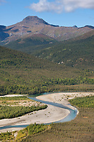 Middle fork of the Koyukuk river, arctic, Alaska.
