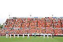 General view,..APRIL 23, 2011 - Football :..Omiya Ardija and Kashiwa Reysol players observe a moment of silence before the 2011 J.League Division 1 match between Omiya Ardija 0-1 Kashiwa Reysol at NACK5 Stadium Omiya in Saitama, Japan. (Photo by Hiroyuki Sato/AFLO)