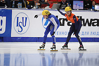 "SHORT TRACK: MOSCOW: Speed Skating Centre ""Krylatskoe"", 13-03-2015, ISU World Short Track Speed Skating Championships 2015, 500m Ladies, Kimberly GOETZ (#062 