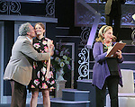 """Guiding Light's Kim Zimmer stars with Joel Briel and Kayleen Seidl in """"It Shoulda Been You"""" - a new musical comedy - at the Gretna Theatre, Mt. Gretna, PA on July 30, 2016. (Photo by Sue Coflin/Max Photos)"""