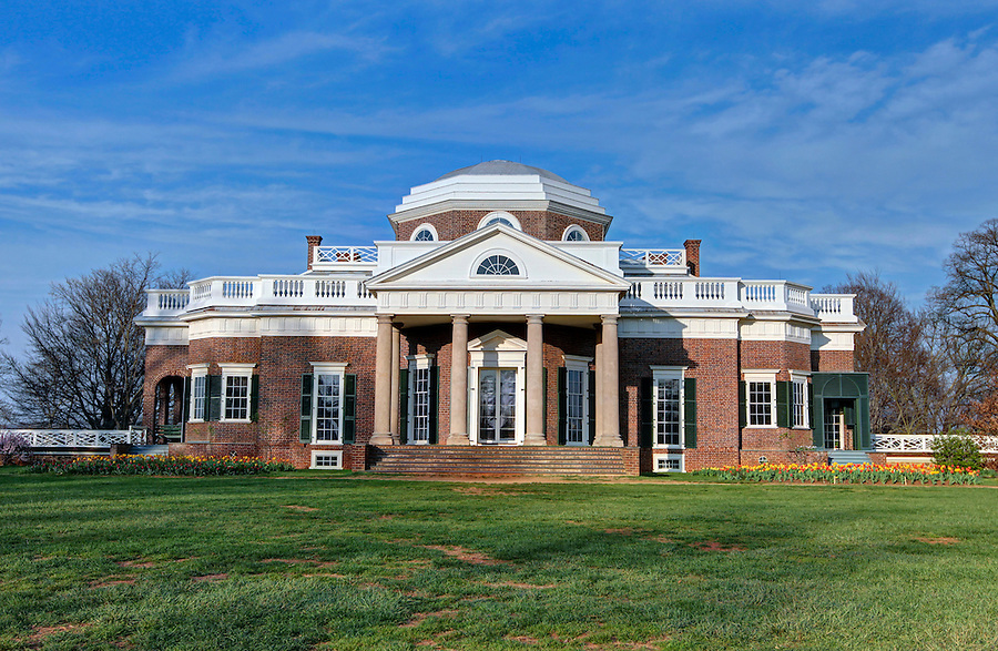 A national historical place located in Charlottesville, Virginia. Photo/Andrew Shurtleff