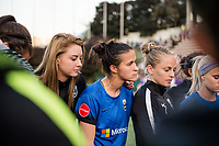 Seattle, WA - Sunday, May 21, 2017: Carson Pickett during a regular season National Women's Soccer League (NWSL) match between the Seattle Reign FC and the Orlando Pride at Memorial Stadium.