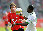 Fussball Bundesliga, Saison 2008/2009: Hannover 96 - VFL Wolfsburg