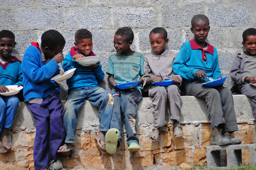 The WFP school feeding programme in Endamino provides meals to the students who attend class as well as livestock and gardening programmes. Since the school feeding began in 2003 enrollment has grown from 162 to 737 in 2011.