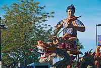 Guardians of Taiwan, the third Prince, Pasadena Rose Float