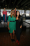 Eve and Designer Catherine Malandrino at Catherine Malandrino Spring Summer 2014 Presentation (Les Voiles De Saint Tropez) Held at Mercedes Benz Fashion Week NY