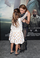 "Westwood, CA - NOVEMBER 06: Abigail Pniowsky, Amy Adams at Premiere Of Paramount Pictures' ""Arrival"" At Regency Village Theatre, California on November 06, 2016. Credit: Faye Sadou/MediaPunch"